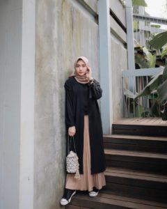 Tampilan Gaya Dengan Knitwear Untuk Hijabers